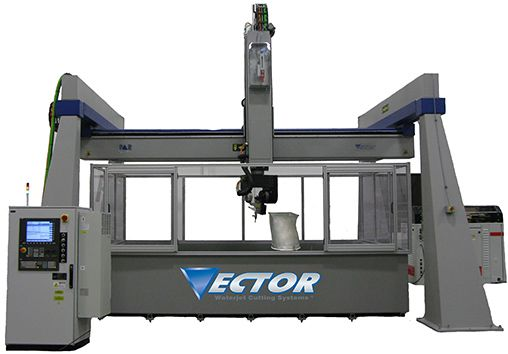 Large 3d Envelope Waterjet Cutting Systems